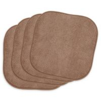 Bon Appetite Chair Pads in Linen (Set of 4)
