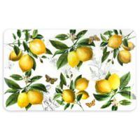 Home Dynamix® Lemons Embossed Gentle Step 1'5 x 2'5 Kitchen Mat