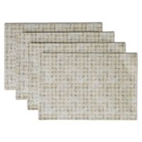 Box Grid Placemats in Neutral (Set of 4)