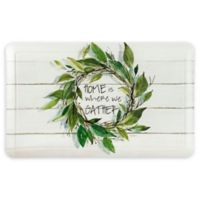 """Home Dynamix® """"Gather"""" Embossed Gentle Step 1'5 x 2'5 Kitchen Mat"""