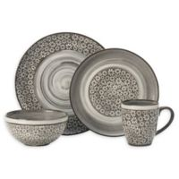 Pfaltzgraff® Blossom 16-Piece Dinnerware Set in Brown