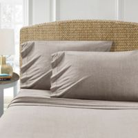 Morgan Home T-Shirt Standard Pillowcases in Taupe (Set of 2)