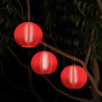 Pure Garden LED Pathway Light in Red