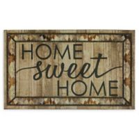 "Mohawk Home® Doorscapes Rustic Home Sweet Home 18"" x 30"" Rubber Door Mat"