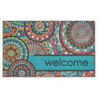 "Mohawk Home® Doorscapes Bohemian Kingdom Welcome 18"" x 30"" Rubber Door Mat"