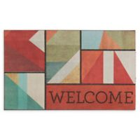 "Mohawk Home® Doorscapes Framework Spice Welcome 18"" x 30"" Rubber Door Mat"
