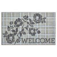 "Mohawk Home® Doorscapes Pastoral Elegance Welcome 18"" x 30"" Rubber Door Mat"