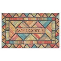 "Mohawk Home® Doorscapes Woodland Walk Welcome 18"" x 30"" Rubber Door Mat"