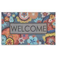 "Mohawk Home® Doorscapes Ethereal Welcome 18"" x 30"" Rubber Door Mat"