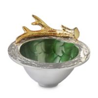 Julia Knight® Luxe Lodge Antler 6.75-Inch Bowl in Emerald