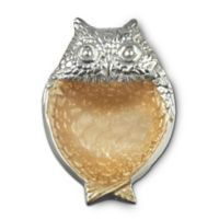 Julia Knight® Luxe Lodge Owl 6.5-Inch Bowl in Toffee