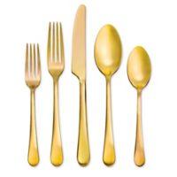 Skandia Mirabella 20-Piece Flatware Set in Gold