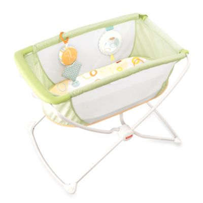 Furniture U003e Fisher Price® Rock U0027n Play Portable Bassinet