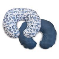 Boppy® Microfiber Slipcover in Blue Zoo