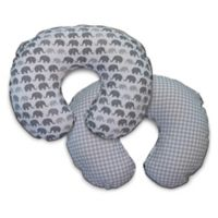Boppy® Microfiber Slipcover in Grey Elephants