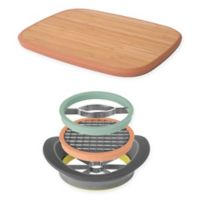 BergHOFF® 5-piece Leo 15-Inch x 11-Inch Bamboo Cutting Board and Slicer Set