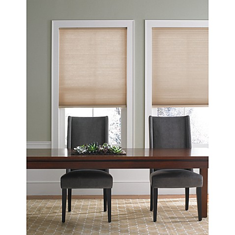 real simple cordless cellular shade