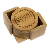 Stamp Out Round Wreath Coasters (Set of 6)