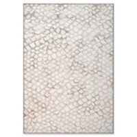 """Dynamic Rugs® Locarno 6'7"""" X 9'6"""" Powerloomed Area Rug in Ivory"""