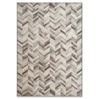 "Dynamic Rugs® Zurich 3'11"" X 5'7"" Powerloomed Area Rug in Silver"