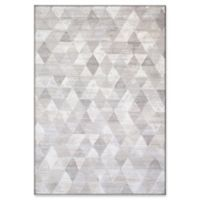 "Dynamic Rugs® Geneva 3'11"" X 5'7"" Powerloomed Area Rug in Beige"