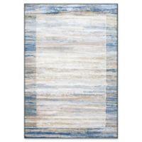 "Dynamic Rugs® Olten 2' X 3'11"" Powerloomed Area Rug in Blue/grey"
