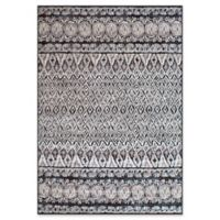 "Dynamic Rugs® Lucerne 3'11"" X 5'7"" Powerloomed Area Rug in Grey"