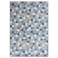 "Dynamic Rugs® Sion 3'11"" X 5'7"" Powerloomed Area Rug in Blue/multi"