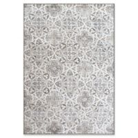 "Dynamic Rugs® Zermatt 3'11"" X 5'7"" Powerloomed Area Rug in Beige"