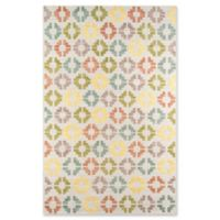 Momeni Boho 2' x 3' Hand-Tufted Accent Rug in Ivory