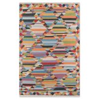 Momeni Caravan 3'3 x 5'3 Hand-Woven Multicolored Area Rug