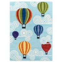 Momeni Hot Air Balloons 4' x 6' Multicolor Area Rug