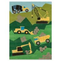 Momeni Construction 8' x 10' Area Rug in Green