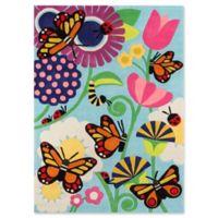 Momeni Butterfly 5' x 7' Multicolor Area Rug