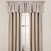 Otello Stripe 108-Inch Window Curtain Panel in Taupe