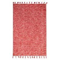 Dynamic® Loft 5' X 8' Flat-weave Area Rug in Red