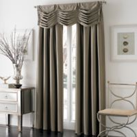 Otello Honeycomb Pinch Pleat Window Valance in Bronze