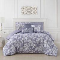 Jacqueline 6-Piece Reversible Full/Queen Comforter Set in Orchid