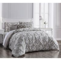 Germaine 6-Piece Reversible King Comforter Set in Taupe