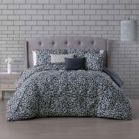 Corinna 6-Piece Reversible Full/Queen Comforter Set in Light Grey