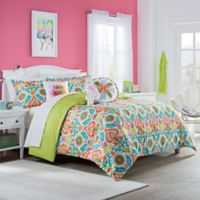 Waverly Kids Santa Maria 2-Piece Reversible Twin Comforter Set in Mimosa