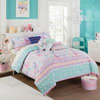 Waverly Kids La La Llama Reversible 3-Piece Full/Queen Comforter Set