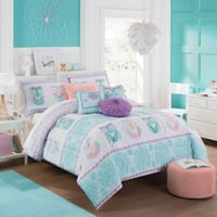 Waverly Kids Hoo Dreams Reversible 2-Piece Twin Comforter Set