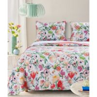 Blossom Reversible Twin Quilt Set
