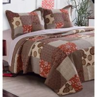 Stella Full/Queen Quilt Set in Natural