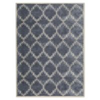 Bee & Willow™ Home Morrow 8' x 10' Area Rug in Silver/Almond