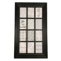 Melannco® 12-Picture Collage Frame in Black