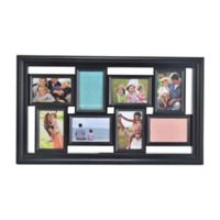 Melannco® 8-Picture Collage Frame in Black