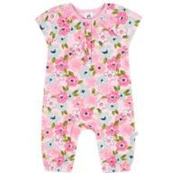 Just Born® Size 0-3M Blossom Coverall in Pink/Blue