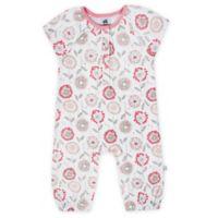 Just Born® Newborn Dandelion Coverall in Pink